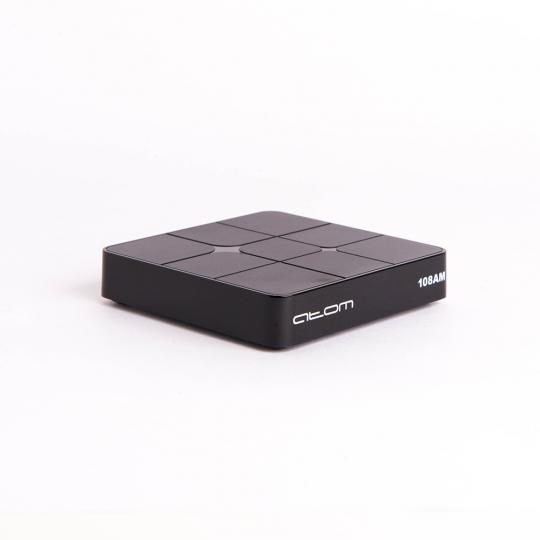 Приставка Смарт ТВ АТОМ-108АМ (Android TV Box) Amlogic S905W, 2/16Gb, Bluetooth