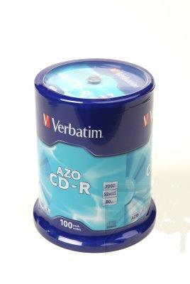 Диск Verbatim CD-R 700MB 43430 (100)